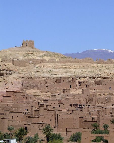 The Atlas Mountains in Morocco are breathtaking
