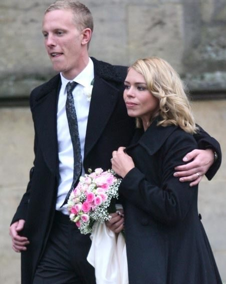 The former pop star, pictured her at her wedding to Laurence Fox, wants a big family