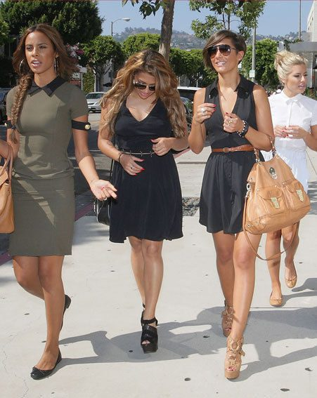 The Saturdays have been in California filming their new reality show