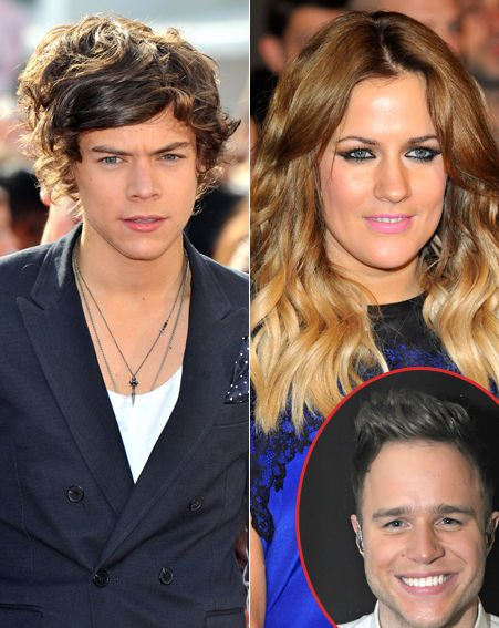 Harry Styles and Caroline Flack still 'get on really well ...