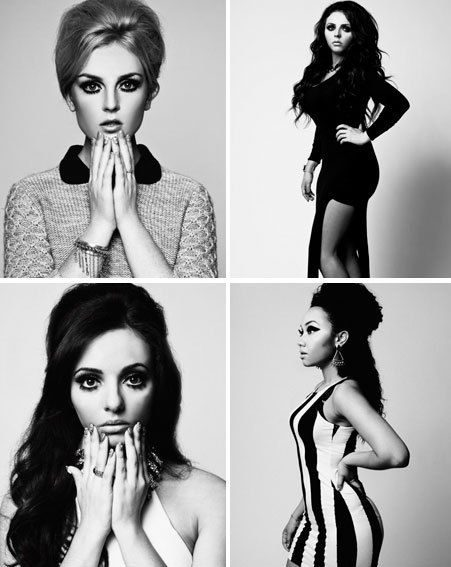 Little Mix channel Sixties chic on new photoshoot that's a ...