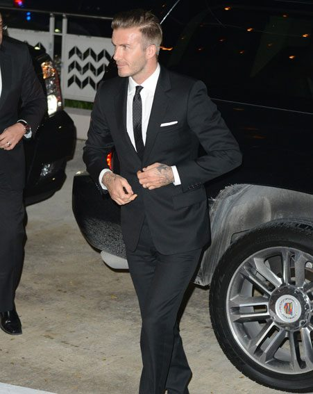 David Beckham attempts to set a new trend, takes tips from ...