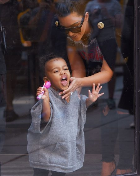 5 time North West gave us ultimate style goals in 2015 ...