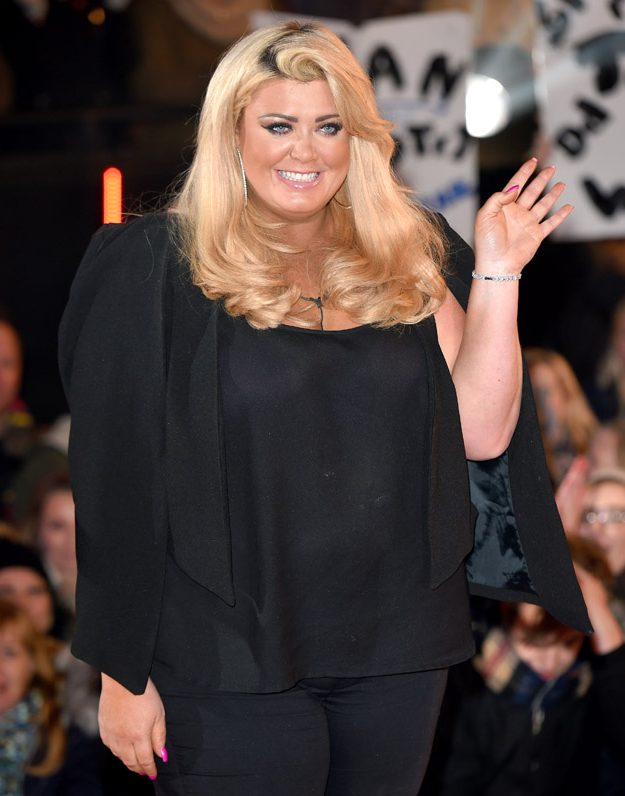 Gemma Collins revealed she was not on the phone to a customer in the clip