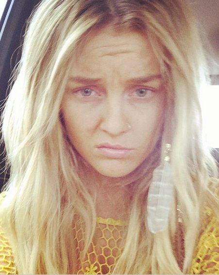 Perrie posted this pic of her the day after her party entitled: