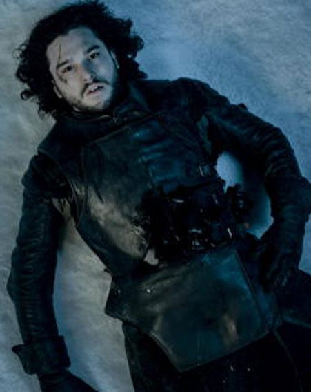 Jon Snow was seen bleeding into the snow, but does that mean it's the end of him?
