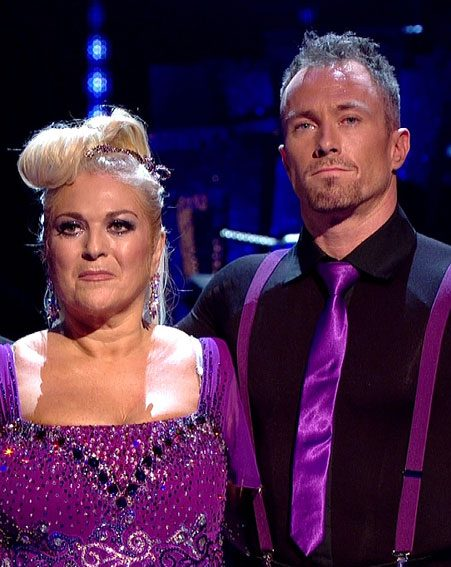 Vanessa Feltz was a contestant on Strictly Come Dancing 2013