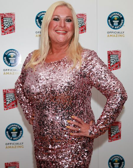 Vanessa Feltz has admitted she wants to 'breastfeed' her grandchild