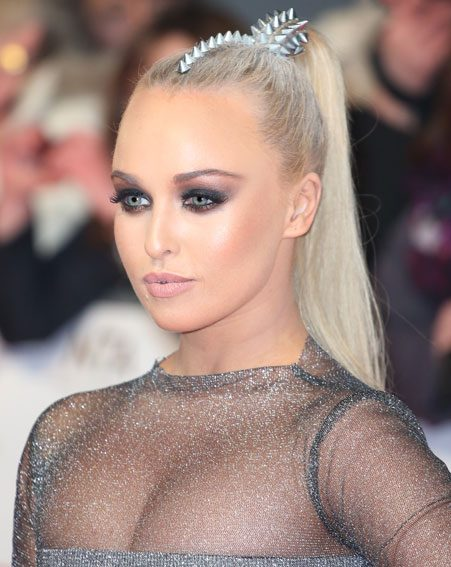 Jorgie Porter defended herself against the criticism
