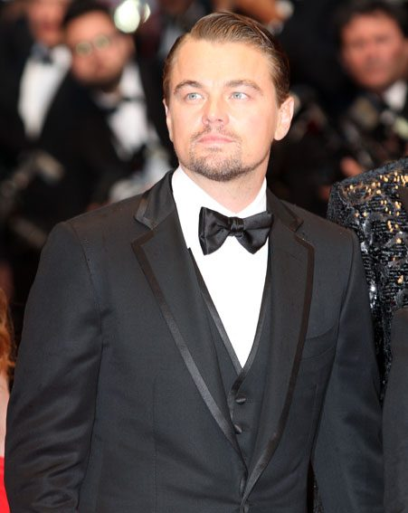 Leonardo DiCaprio has a decent chance of scooping a Golden Globe this year