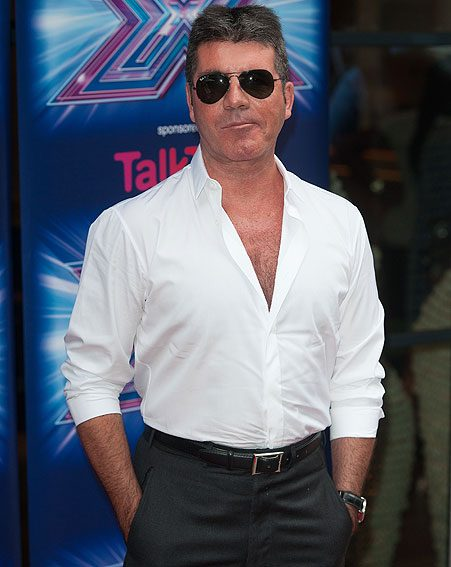 Simon Cowell has hinted that they could call their tot Simon if they have a boy