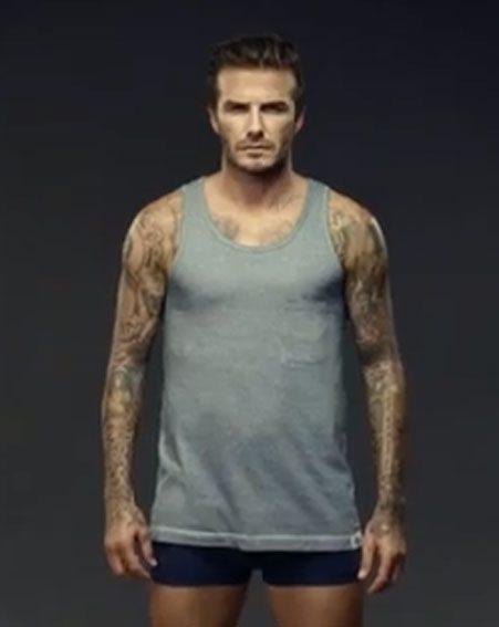 Simply matchless Images of fully nude david beckham confirm