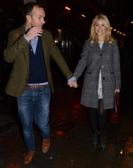 Holly Willoughby and hubby Dan Baldwin enjoyed a rare date night this week