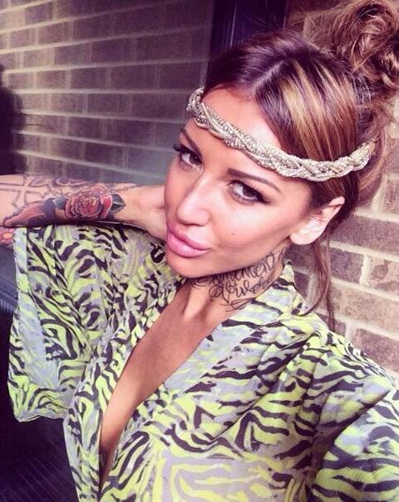 Sallie Axl is after Jodie Marsh's queen-of-the-selfie crown