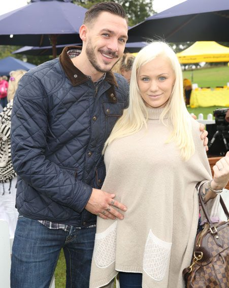 Kirk Norcross has confirmed that he is engaged to his pregnant girlfriend Holli Willis