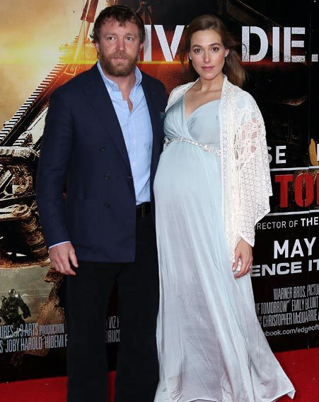 Guy Ritchie and fianc&...