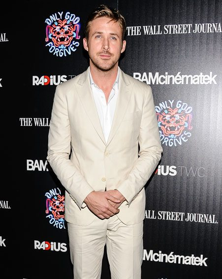 Ryan Gosling seems ready for fatherhood with Eva