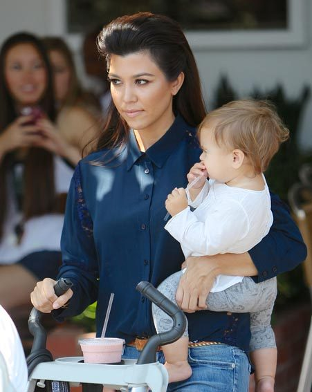 Kourtney Kardashian, Keeping Up With The Kardashians, Kim Kardashian, Scott Disick, beauty, exclusive
