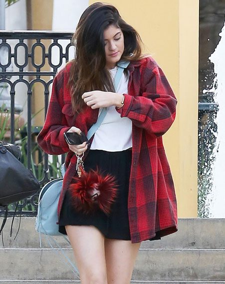 The 16-year-old showed off her new shorter locks when she stepped out for lunch with a pal