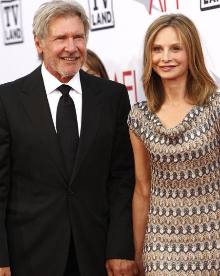 Harrison Ford and Calista Flockhart have got married