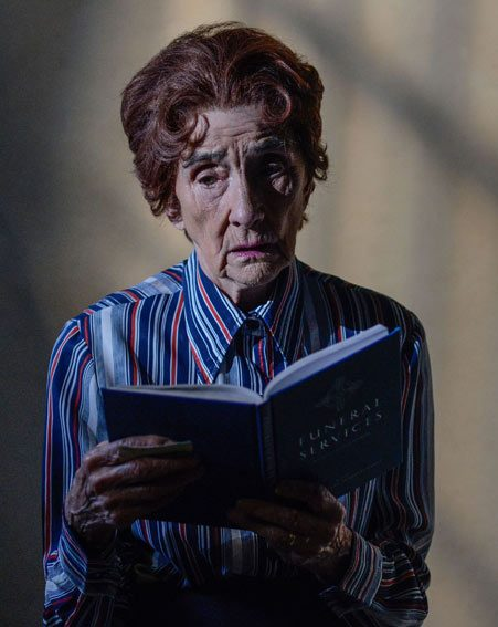 Dot is forced to mourn for her son alone in her prison cell