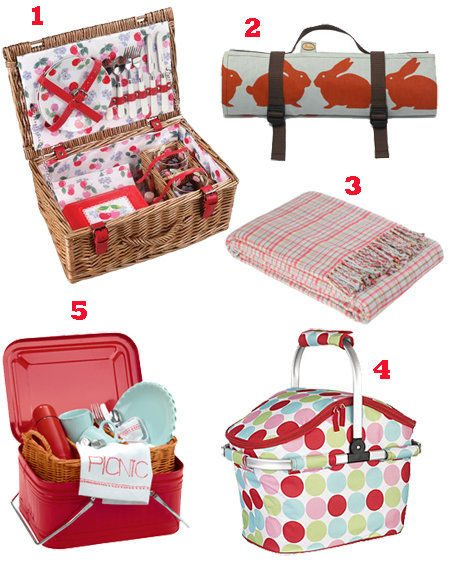 Picnic Basket Ennis : Pack the perfect summer picnic for a fashionable feast