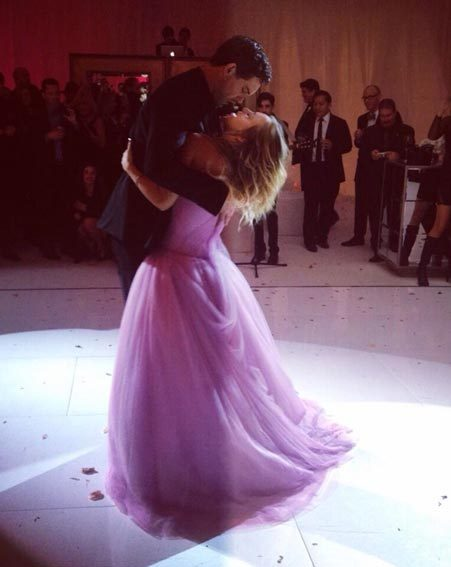 Kaley Cuoco shared more wedding snaps from NYE