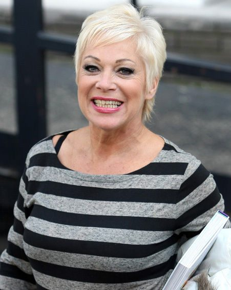 Denise Welch looks as happy as we feel about Celebrity Big Brother coming back
