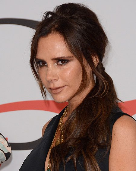 Victoria Beckham goes out of her way to use organic skincare products