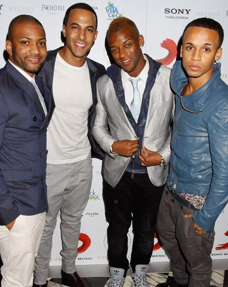 Tulisa and her friends apparently didn't speak much to the JLS boys