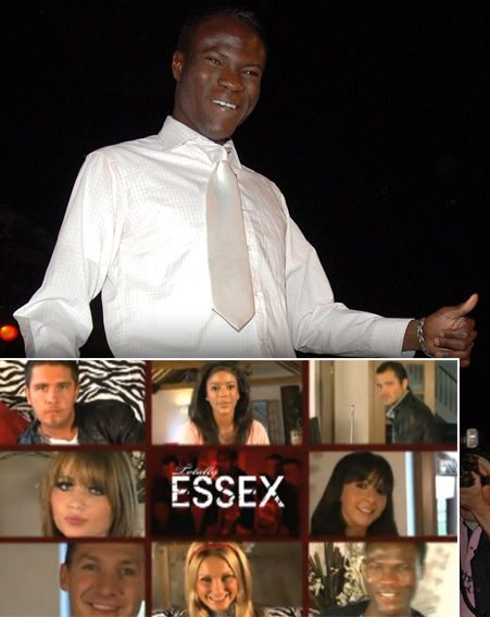 Brian featured in the promo video for Totally Essex