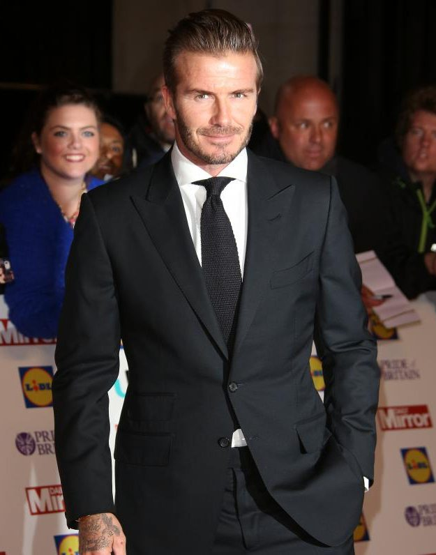 David Beckham was 'honoured' to be at the Pride of Britain Awards