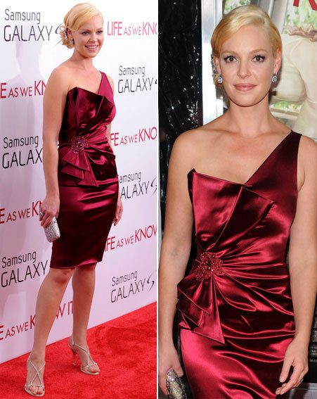 Katherine Heigl looked gorgeous as she hit the red carpet in New York