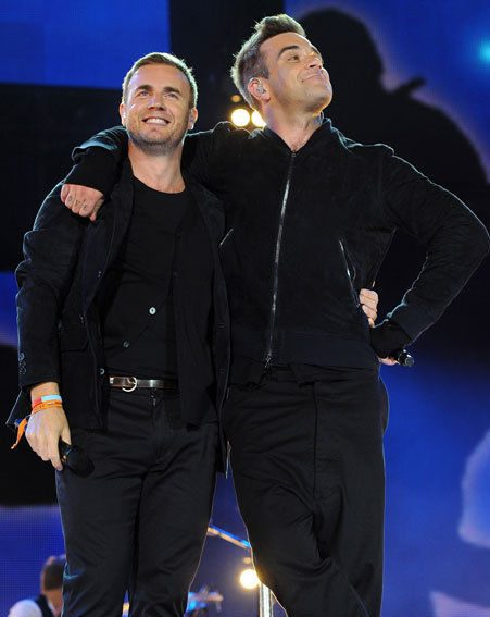 Robbie Williams recently rejoined Take That