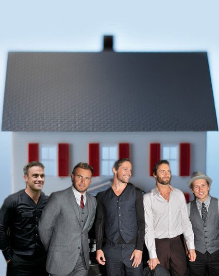 Take That are all going to live in a big house together next summer