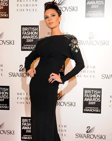 British Fashion Awards: Victoria Beckham last night