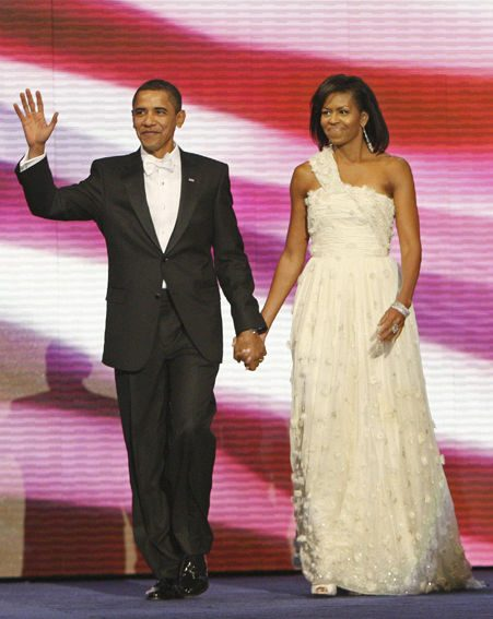 Michelle's wardrobe as First Lady symbolised Obama's policies