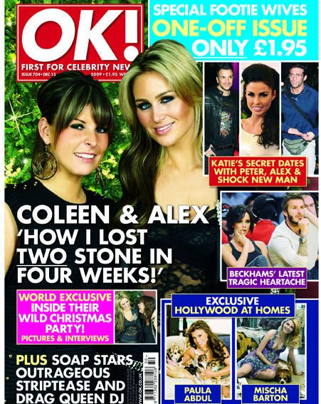 Coleen Rooney reveals how she lost her baby weight
