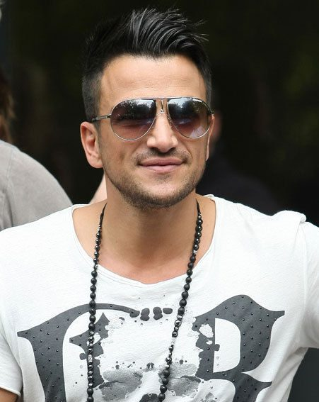 Peter Andre is giving up dating