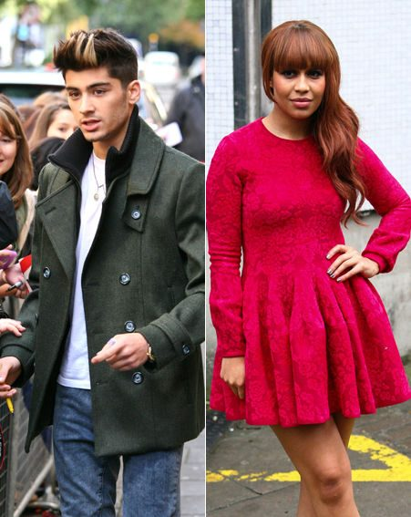 zayn dating rebecca ferguson Zayn started dating perrie edwards of the girl group little mix in zayn caused controversy by dating fellow contestant rebecca ferguson who was six years older.