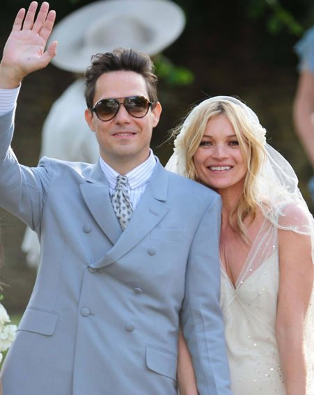 Kate Moss and Jamie Hince get married