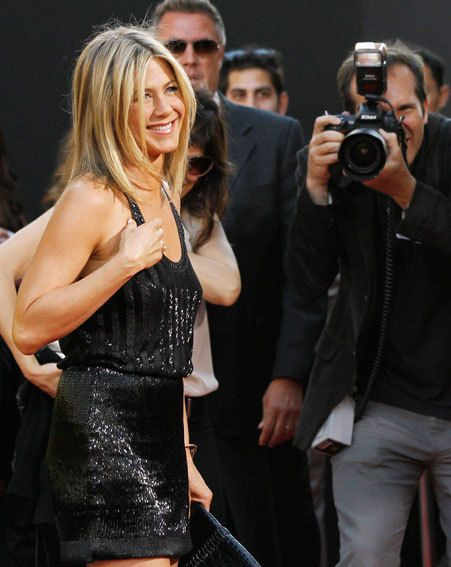 Jennifer Aniston looked outrageously good at the Horrible Bosses premiere