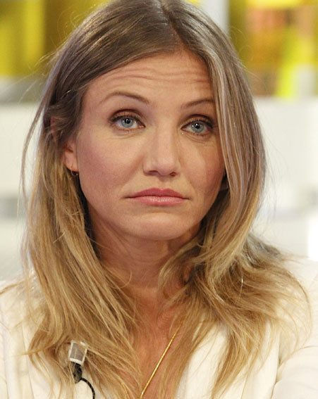 Cameron Diaz wasn't looking impressed when she appeared on a Spanish TV show
