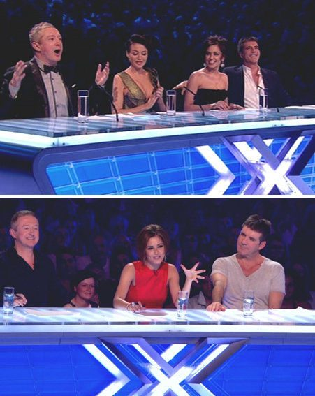 X Factor 2010: Cheryl Cole has got the girls, while Dannii Minogue landed the boys