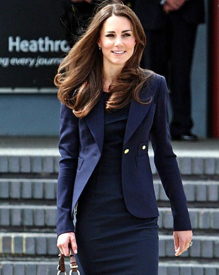 Kate Middleton was showing off her jet-set style today
