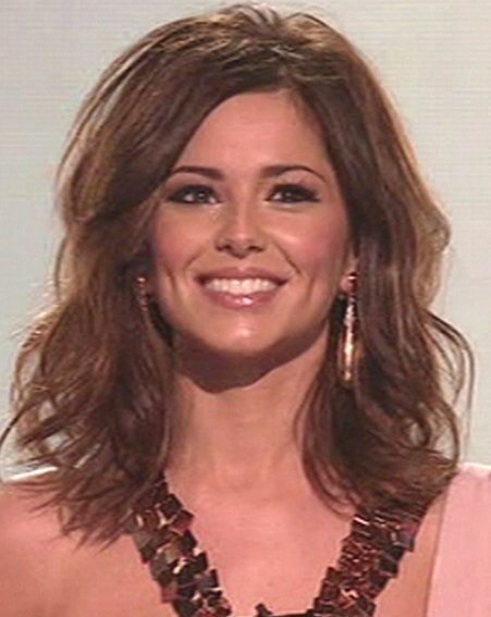 Cheryl Cole debuted the new look on the X Factor this weekend