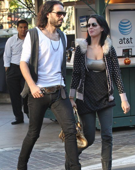 Russell Brand has fuelled speculation he will move in with Katy Perry