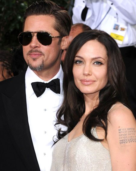 Angelina and Brad each have a nomination