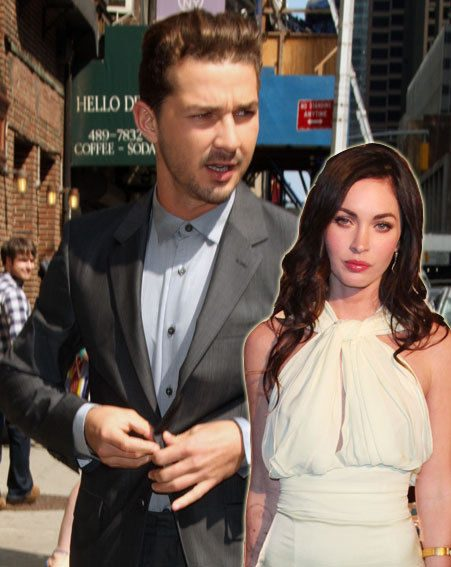 Shia LaBeouf has confirmed that he was dating Megan Fox when they filmed Transformers