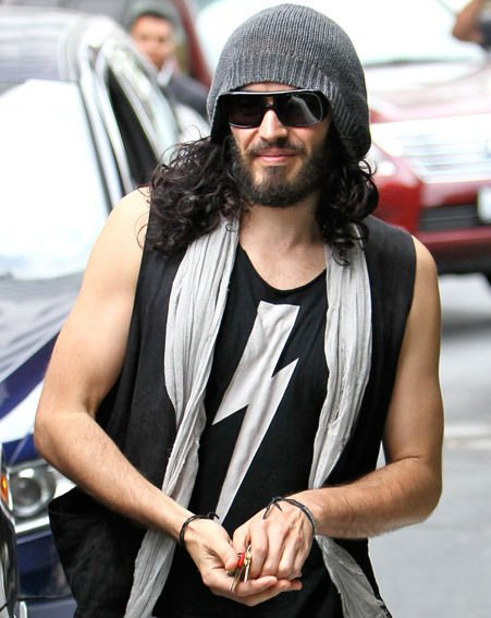 Russell Brand gave generously to a homeless man recently
